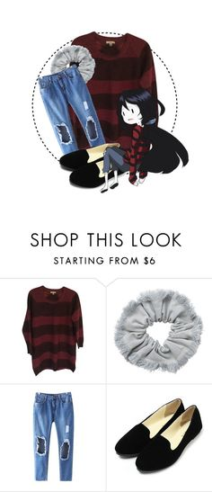 """Adventure Time // Marceline The Vampire Queen"" by annieisawallflower ❤ liked on Polyvore featuring Burberry, Monki and Chicnova Fashion"