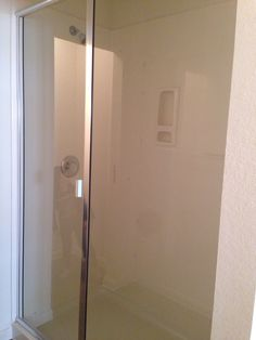 This is a standard Express Homes shower in the master bathroom.