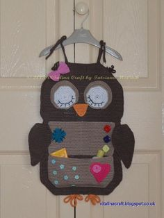 Owl room organiser | Craftsy