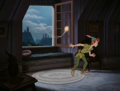 """""""Peter Pan chose this particular house because there were people here who believed in him."""""""