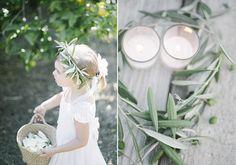 Olive leaf crown | Corona ramo di ulivo |  Apulia Wedding Inspiration | Ispirazione dalla Puglia! http://theproposalwedding.blogspot.it/ #apulia #wedding #matrimonio #autumn #autunno #fall #wine #wineyard #olive #uliveto #oliva #verde #green #italy #italian #italia