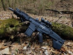 Airsoft, Zombie Survival Guide, Battle Rifle, Firearms, Shotguns, Assault Rifle, Cool Guns, Military Weapons, Fantasy Weapons