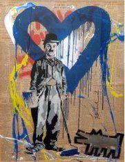 Mr Brainwash. Street artist from France, based in the States. #art #artist #streetart