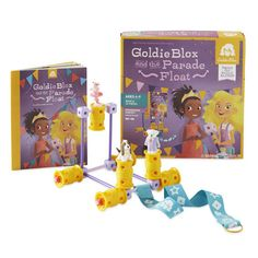 GoldieBlox and the Parade Float // these engineering toys for girls look really great!