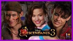 Just a quick casting update for Disney's Descendants 3 which begins filming this summer. Sarah Jeffrey, Dylan Playfair & Thomas Doherty are set to reprise th. Descendants Videos, Disney Descendants 3, Thomas Doherty, Jafar, Disney Fun, Movies And Tv Shows, Movie Tv, It Cast, Film