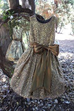Isabel Garreton - Sequin Dress with Sash