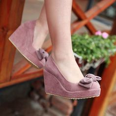 Heels: approx 11 cm Platform: approx - cm Color: Black, Pink, Gray Size: US 3, 4, 5, 6, 7, 8, 9, 10, 11, 12 (All Measurement In Cm And Please Note 1cm=0.39inch) Note:Use Size Us 5 As Measurement Stand