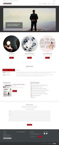 Unicoach - Site Institucional