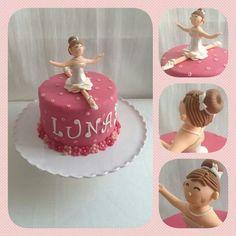 Ballerina taart (Demi's Cupcakes & Taarten