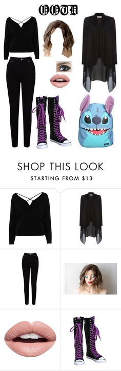 """""""OOTD #6"""" by just-a-friendly-ghost ❤ liked on Polyvore featuring River Island, Label Lab, EAST, Nevermind, Disney and ootd"""