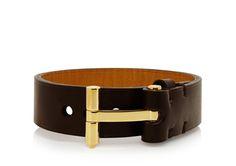 5e2995dbecc8 T Belt Plain Bracelet   Shop Tom Ford Online Store Bracelets, Détails De  Mode,