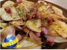 Ham and Pierogies