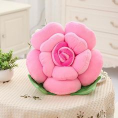 Hot-sale Colorful Rose Flowers Throw Pillow Plush Sofa Car Office Back C. : Hot-sale Colorful Rose Flowers Throw Pillow Plush Sofa Car Office Back Cushion Valentines Gift Online – NewChic Cute Pillows, Kids Pillows, Sofa Pillows, Throw Pillows, Sofa Throw, Accent Pillows, Rose Flower Colors, Flower Shape, Rose Flowers