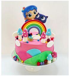 Cake Table Birthday, 4th Birthday Cakes, 5th Birthday Party Ideas, Third Birthday, 1st Birthday Girls, Birthday Bash, Rainbow Dash, Cake Rainbow, Party Cakes