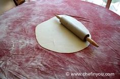 How to make homemade Phyllo/Filo dough from scratch.