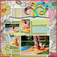 Summer Girl - Scrapbook.com