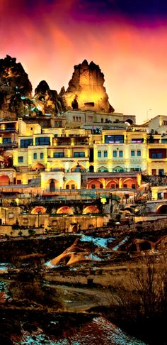 #Jetsetter Daily Moment of Zen: Cappadocia Cave Resort & Spa in Uchisar, #Turkey