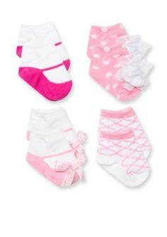 Nursery Rhyme  4-Pack Coordinating Sock Set