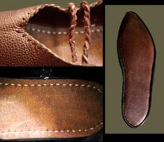 Revival Clothing's brown medieval turnshoe $99