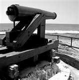 Cannon at Fort Gaines on Dauphin Island, Alabama