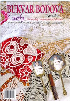 Croatian magazine with Romanian Point Lace