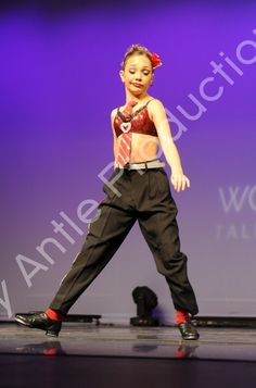 """Maddie's solo """"The Game of Love"""" from World Class Talent Experience"""