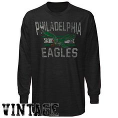 d268f0f548dd1e NFL Philadelphia Eagles Vintage Long Sleeve Scrum T-Shirt by '47 Brand.  $20.07