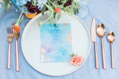 watercolor wedding stationery…