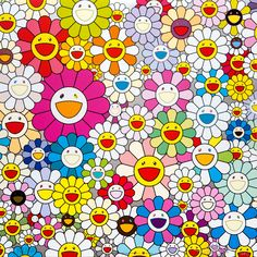 View Flowers from the village of Ponkotan by Takashi Murakami on the KUMI Contemporary website