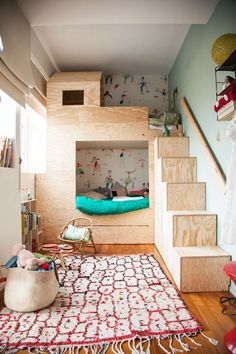 Playful Beds Inspire - Kids Rooms That Prove Sharing Is Caring - Photos