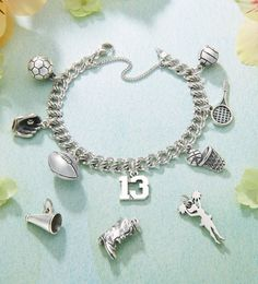 School Activity Charms #jamesavery #jewelry
