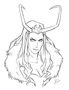 Avengers - Loki: genderbent, marvel comics [ Genderbending Loki seems to be the thing to do. Loki Art, Lady Loki, Marvel Universe, Halloween Diy, Marvel Comics, Avengers, Nerd, Character Design, Cosplay