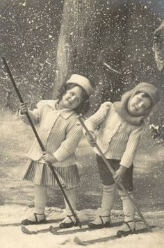 Magic Moonlight Free Images: Winter Girls! Free images for you!