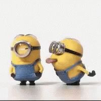 The perfect Minions Tongue Annoy Animated GIF for your conversation. Discover and Share the best GIFs on Tenor. Minions Images, Funny Minion Pictures, Funny Minion Memes, Minions Quotes, Minion Humor, Memes Humor, Whatsapp Smiley, Minion 2015, Minion Banana