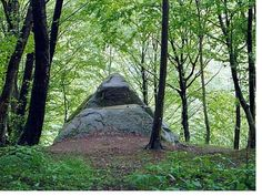 Dolmen pyramid in Mamed canyon - Dolmens of North Caucasus - Wikipedia, the free encyclopedia