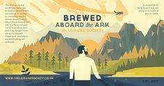 Alone Aboard the Ark - Owen Davey Illustration