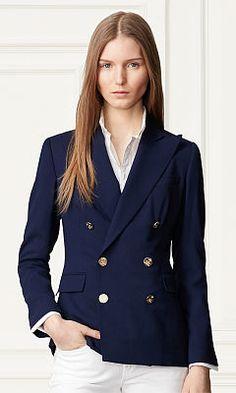 Camden Stretch Wool Jacket - Collection Apparel Jackets - RalphLauren.com  Tweed Blazer, Camden d756512c5e2