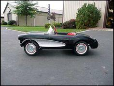 1957 Corvette Pedal Car.