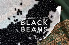 Guide to vegan nutrition. This week: Black beans!