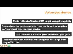 Oracle CRM Animated presentation for CRMIT