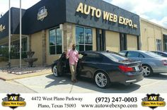 https://flic.kr/p/LNRBgG | Happy Anniversary to Aham on your #BMW #7 Series from George Ondarza at Auto Web Expo Inc! | deliverymaxx.com/DealerReviews.aspx?DealerCode=J789