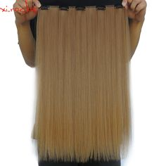 Cheap clip in hair, Buy Quality clip in hair extensions directly from China rock 5 Suppliers: 5 Piece/Lot Xi.rocks 5 Clip in Hair Extensions Synthetic Hair Extension Straight Clips for Hairpiece Golden Brown Synthetic Hair Extensions, Clip In Hair Extensions, Hair Pieces, One Piece, Golden Brown, Hair Puff, Synthetic Hair, Rocks, Wig