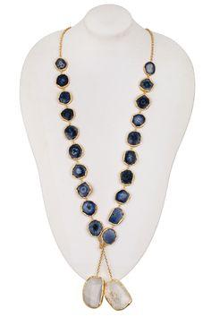Agate Ibiza Lariat Necklace by Bansri on @HauteLook