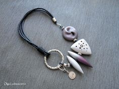 CERNIT Shiny and Glamour. Lilac bead - inspiration by Dan Cormier | by Ольга Леднева