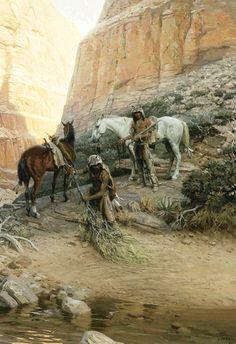 National Cowboy & Western Heritage Museum: Prix de West Winner 1974  Tom Lovell The Wolfmen