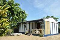 Bungalow en location à Moliets dans les Landes, 40, mobil home