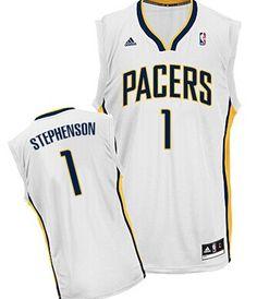 Indiana Pacers  1 Lance Stephenson White Swingman Jersey. Alina · NBA jersey  · Paul George ... 07c13fccf
