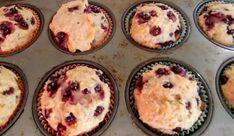 Recette: Muffins aux bleuets et yogourt.