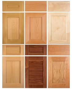 These cabinet doors provide a little variation on the standard shaker cabinet door styles, creating a more unique look while still having the simplicity and minimal detail of a shaker style cabinet door. Shaker Style Cabinet Doors, Cabinet Door Designs, Cabinet Door Styles, Farmhouse Cabinets, Shaker Doors, Farmhouse Kitchen Cabinets, Shaker Cabinets, Cabinet Design, Oak Doors