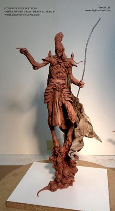 "Simon Lee on Twitter: ""The Death Supreme concept maquette I sculpted for Sideshow Collectibles http://t.co/01utlOf6t7"""